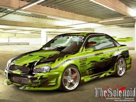 Subaru Impreza by TheSolenoid