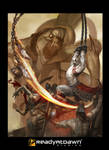 God of War marketing poster