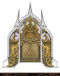 God of War - Poseidon Door