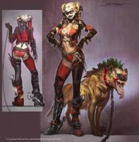Harley Quinn Alt by Raggedy-Annedroid