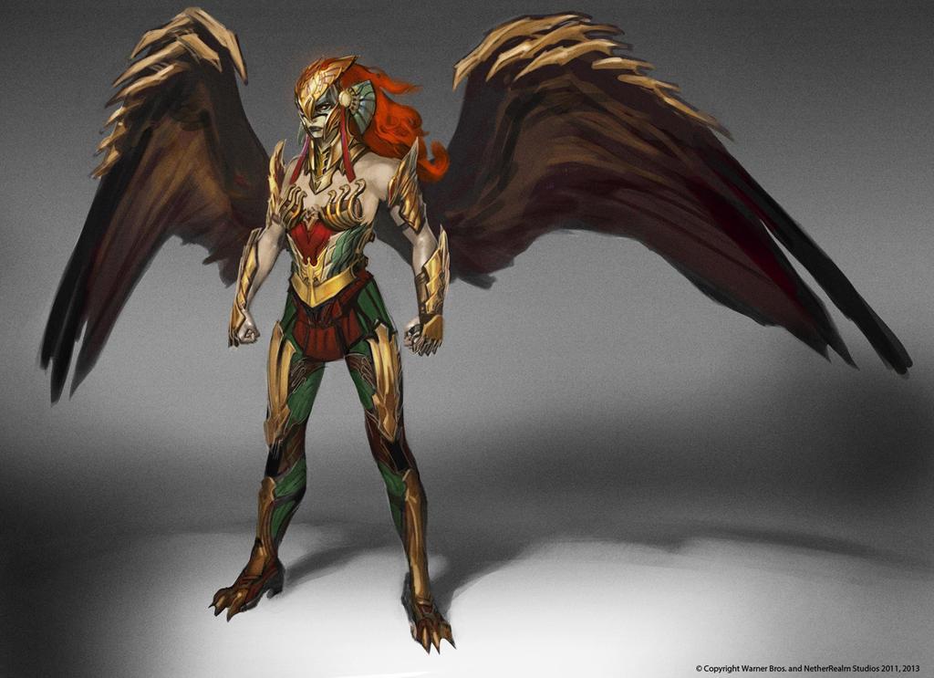 Hawkgirl Alt by Raggedy-Annedroid