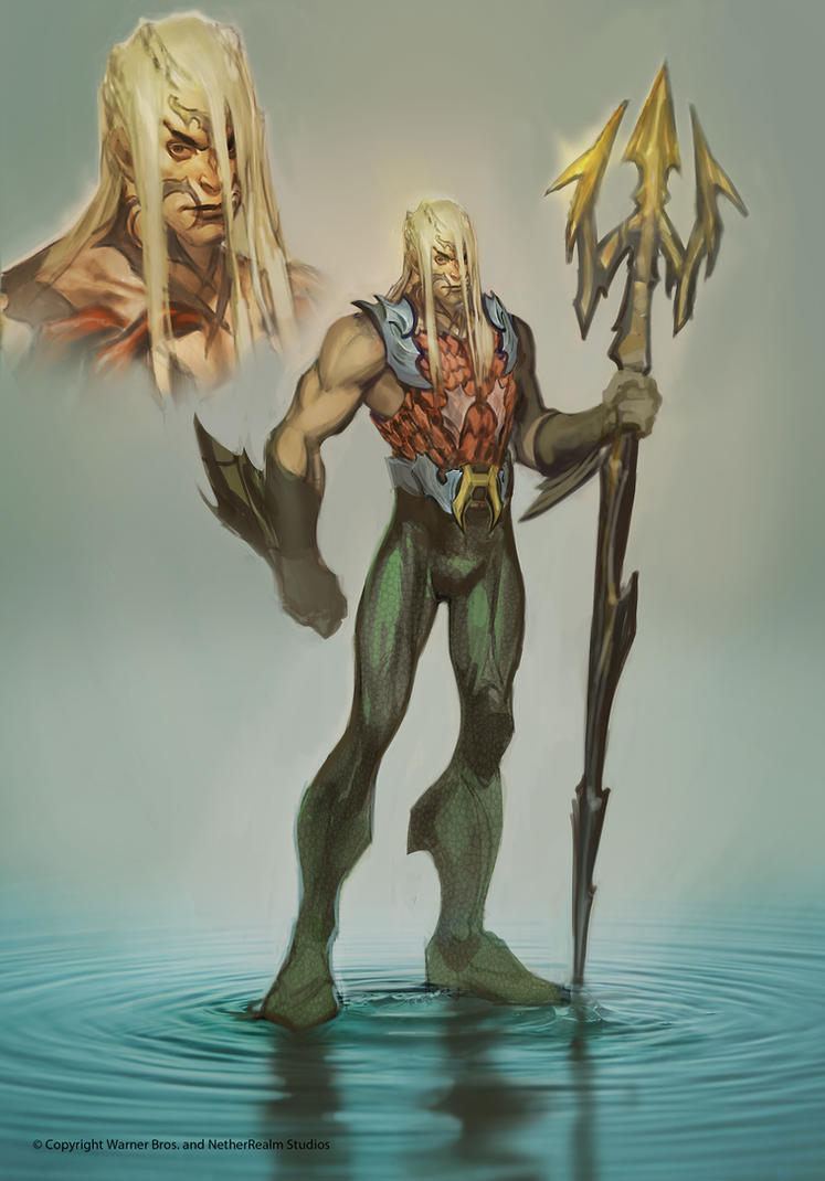Aquaman by Raggedy-Annedroid
