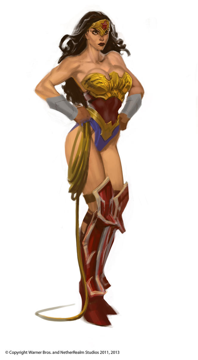 Wonder Woman by Raggedy-Annedroid