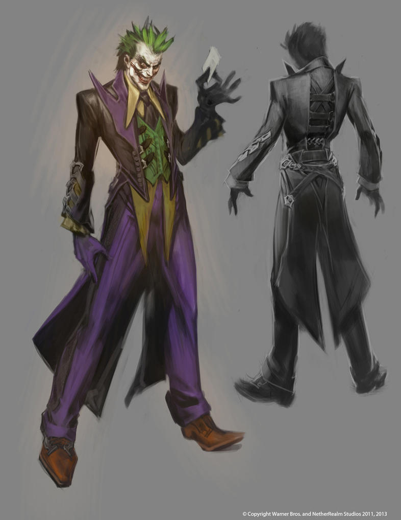 joker alternate earthV costume by Raggedy-Annedroid