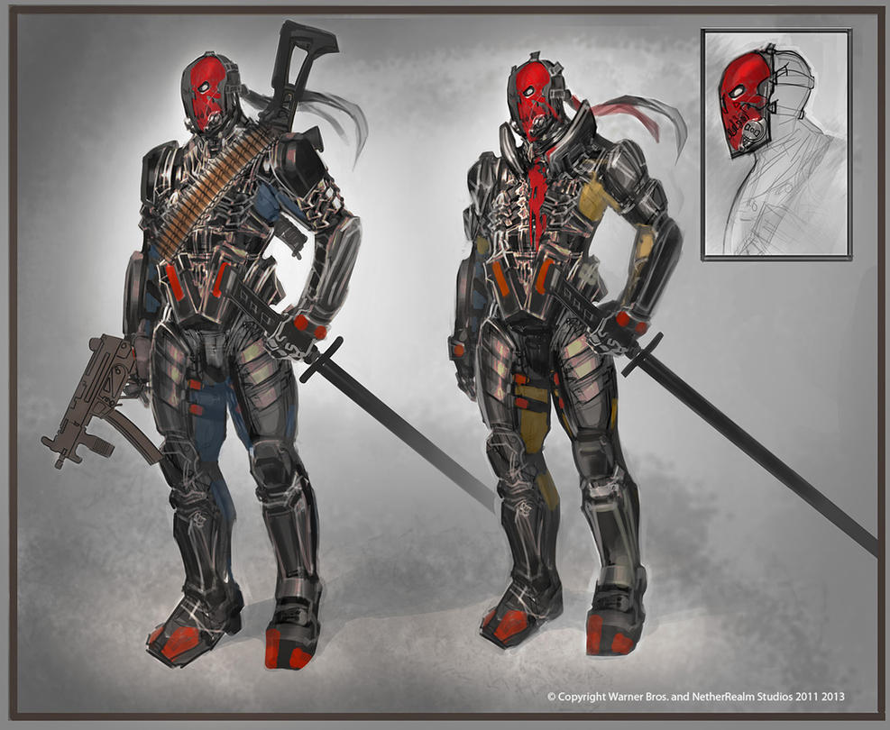 Deathstroke by Raggedy-Annedroid ...  sc 1 st  DeviantArt : deathstroke costume injustice  - Germanpascual.Com