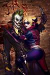 Joker and Harley 4eva By Justin and Jiajem
