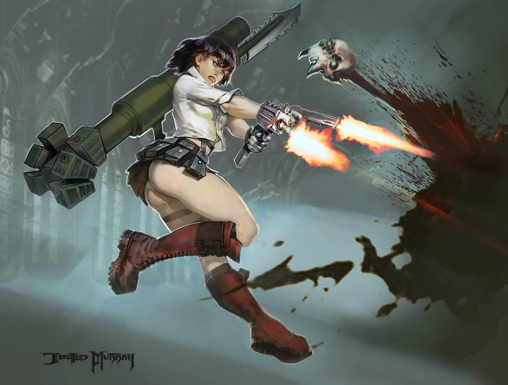 DMC3 Lady by Raggedy-Annedroid