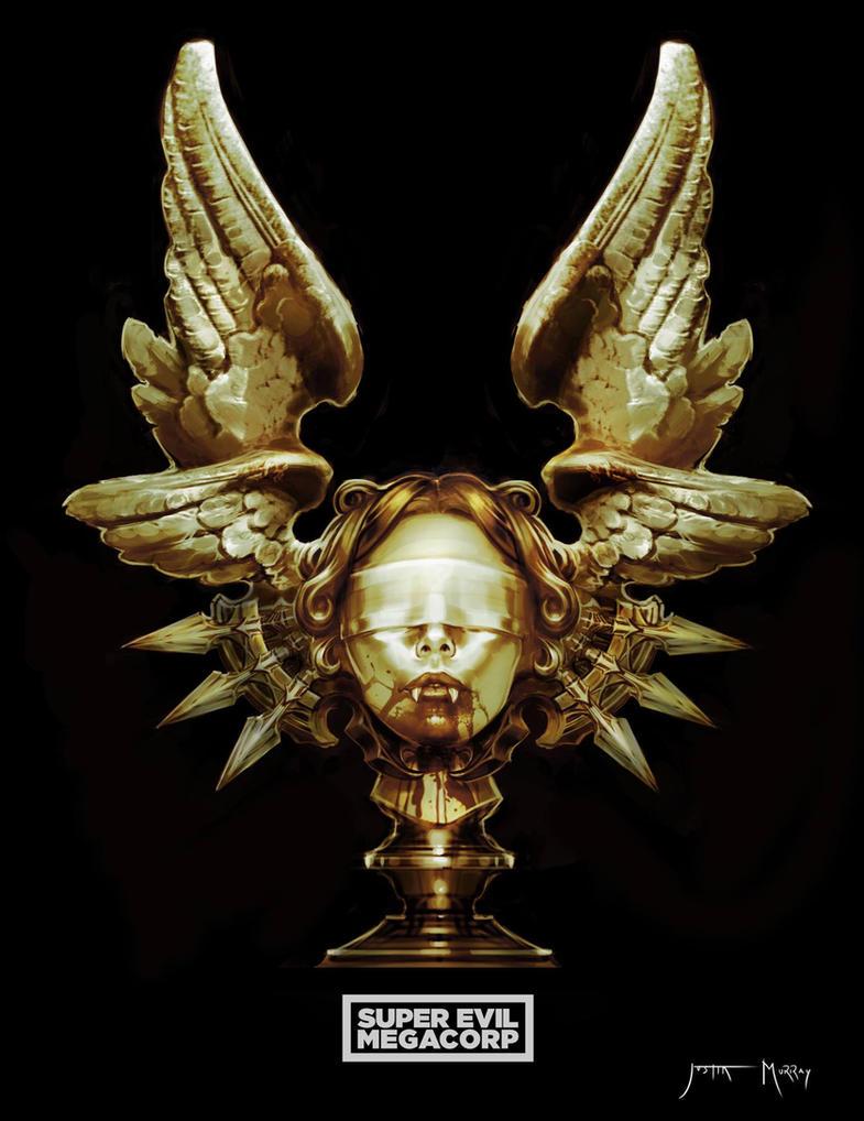 Vampire head by Raggedy-Annedroid
