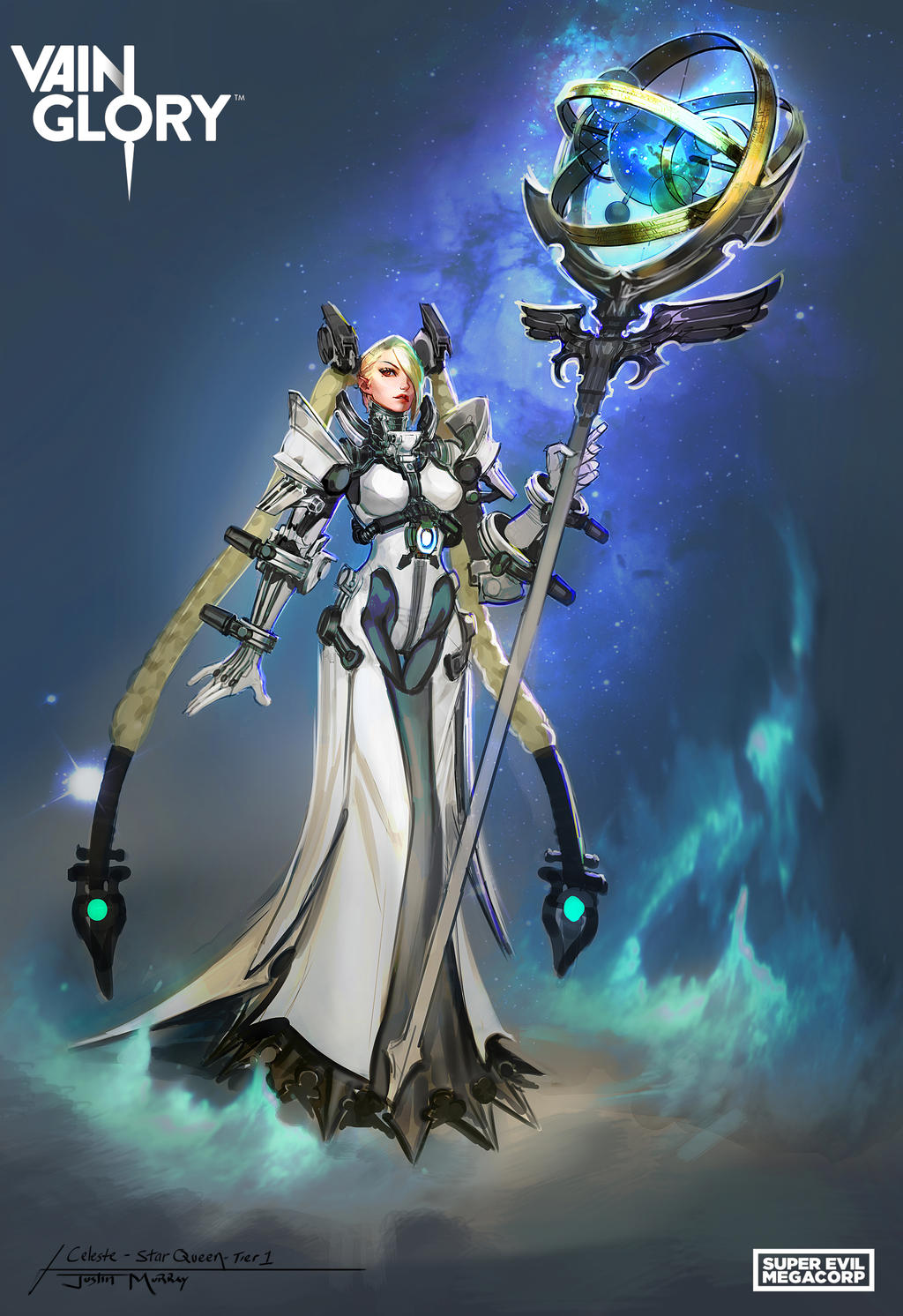 Hd wallpaper vainglory - Raggedy Annedroid 118 8 Star Queen Celeste By Raggedy Annedroid