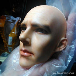 BJD Benedict Cumberbatch faceup by Pixielify