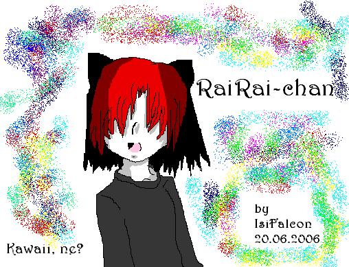 RaiRai-Chan by IsiFalcon