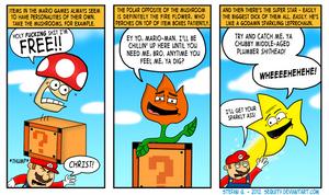 Mario's Living, Breathing Arsenal