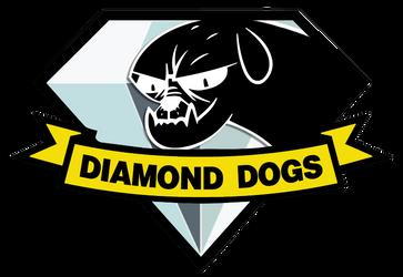 Diamond Dogs badge (My Little Pony x Metal Gear)