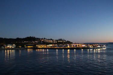 Nighttime Ocean City by UnseenIvy