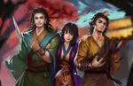 three Knight of xiaoyao