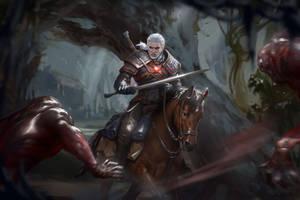 Geralt by yangzheyy