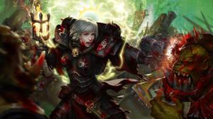 Kill the Ork! by yangzheyy