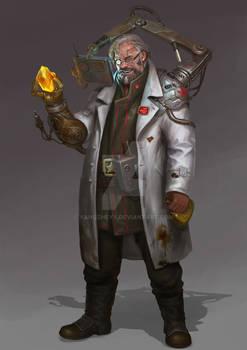 emmmmmmmmm  Mad scientist