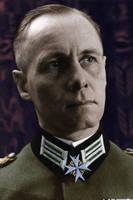 Erwin Rommel Interbellum Colorized by OldHank