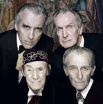 The legends of classic horror cinema - Colorized
