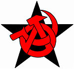 Anarchist Communist Symbol by n0-username