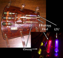 Steampunk Blaster -lights- by Steampunked-Out