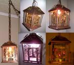 Steampunk Lamp -views-