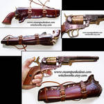 Replica Gun and Holster