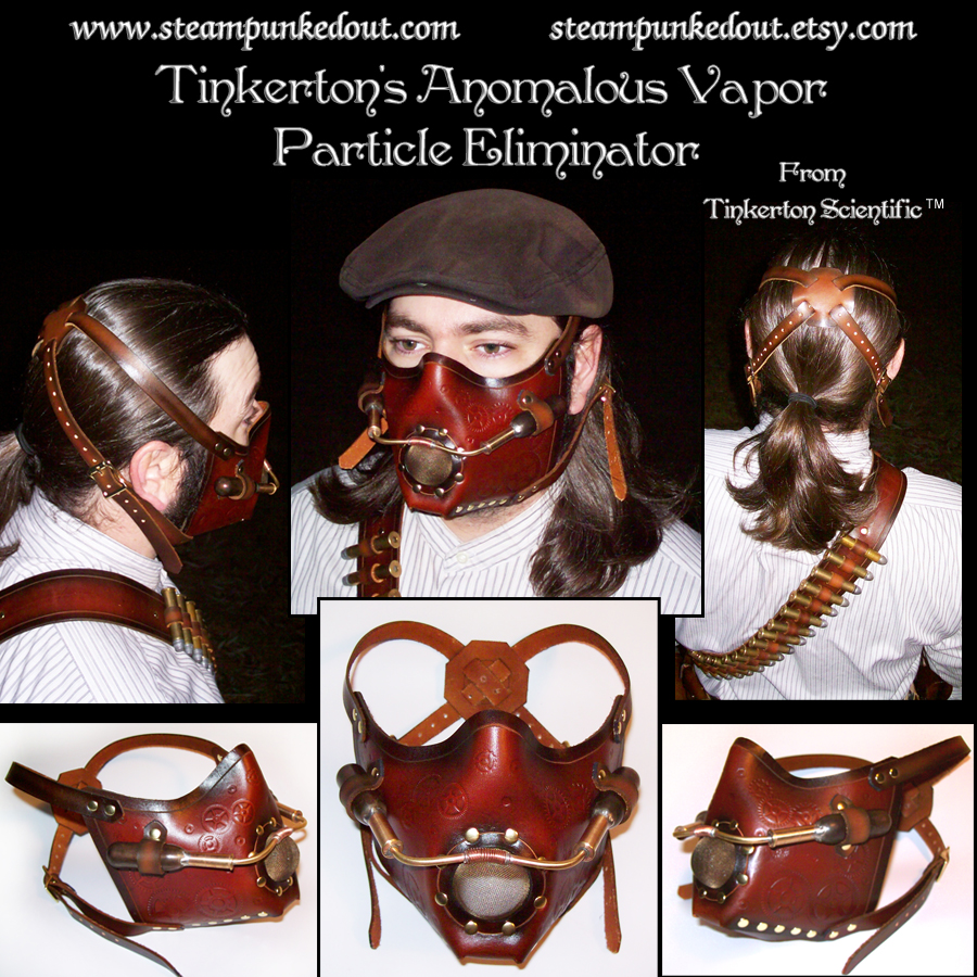 Tinkerton's Vapor Mask by Steampunked-Out