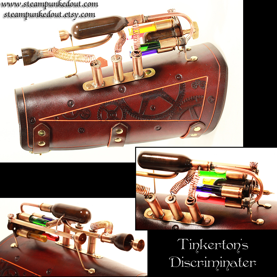Tinkerton's Discriminater by Steampunked-Out