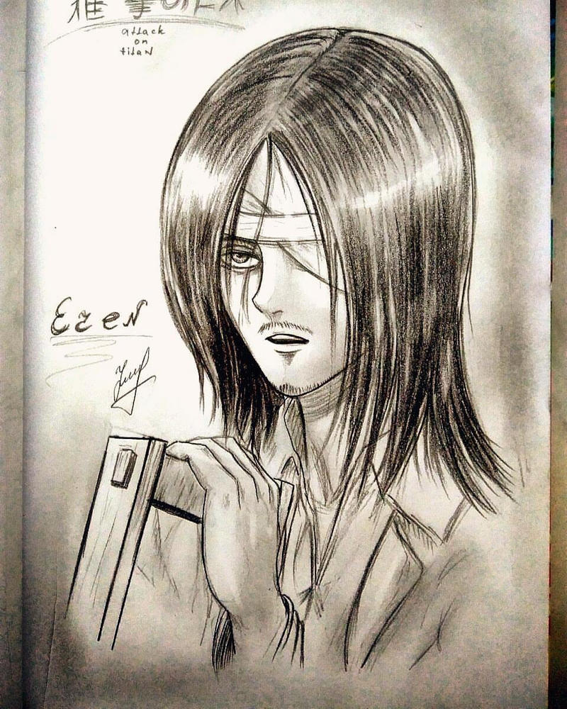 Eren AoT by JuliaFluffy