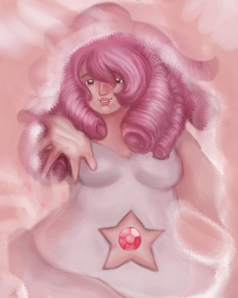 .:Rose Quartz:. -Steven Universe by SakiaLumei