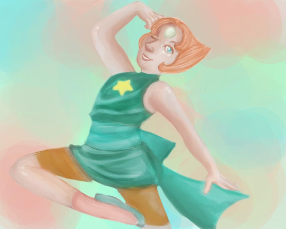 .:Pearl:. - Steven Universe by SakiaLumei