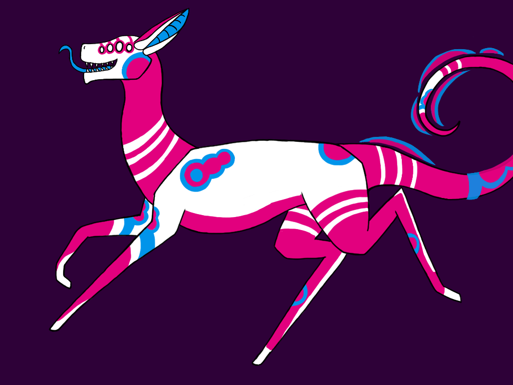 MTT #101 adoptable entry, 'Bubblegum' by ZebracornZeDragon