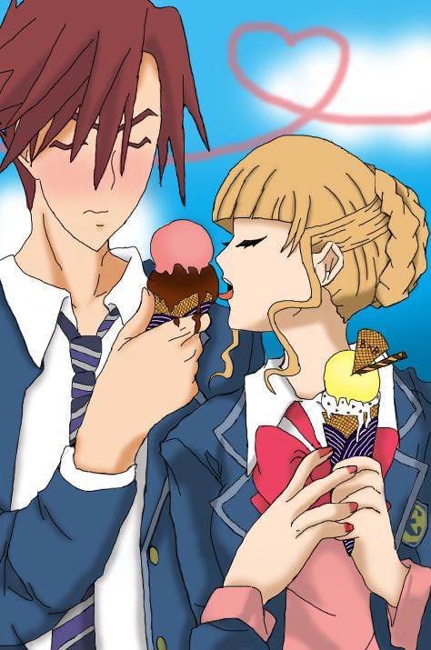 [Galeria] Battler x Beatrice Delicious_Ice_cream_by_xXBeatoUshiromiyaXx
