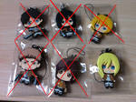 SOLD OUT!! ATTACK ON TITAN Keychains NO FAKES