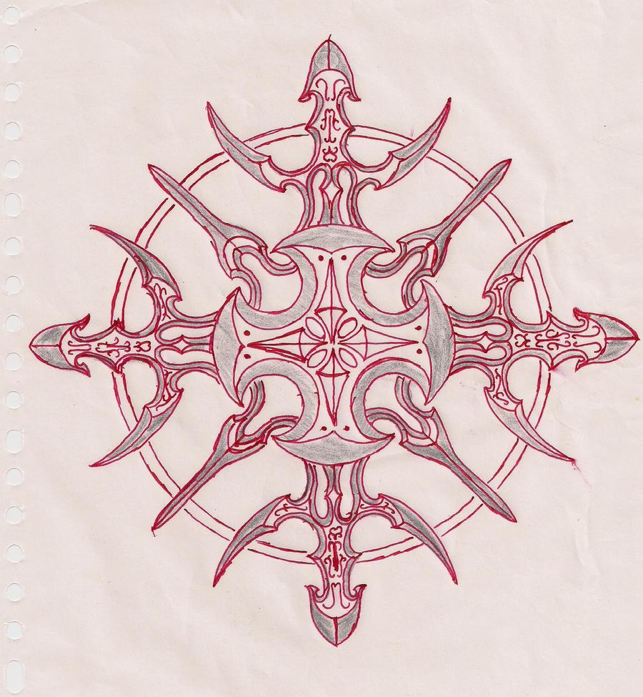 Shuriken Red II by Latinidiot