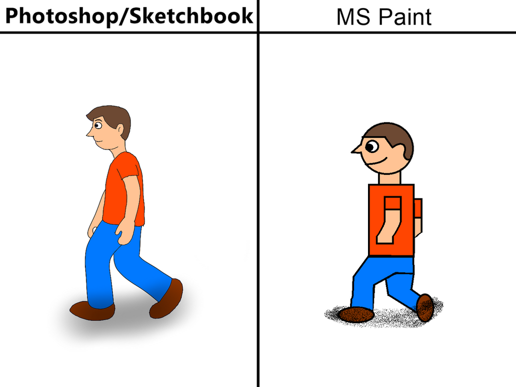 Photoshop vs MS Paint by Rebow19-64