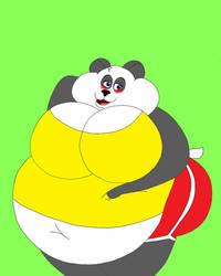 Big Blushy Gill Panda