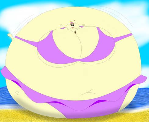 Bikini Wizard Cat Bubble Tea Inflation
