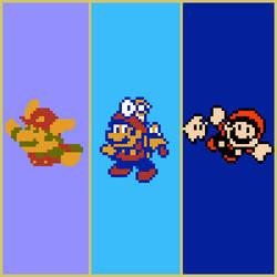 Super Mario 3D All-Stars - NES Artwork