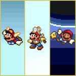 Super Mario 3D All-Stars - SNES Artwork