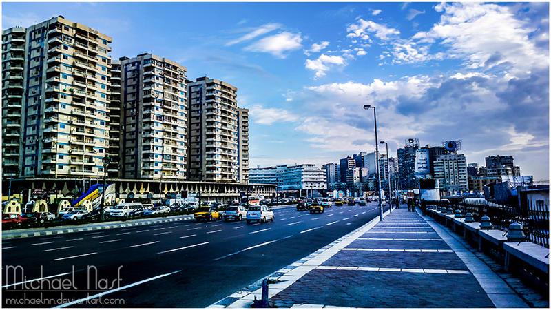 Alexandria Streets by MichaelNN