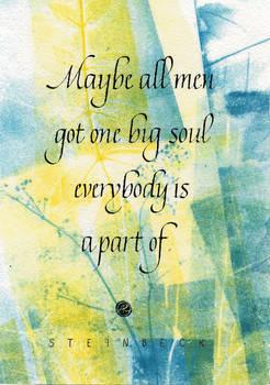 One big soul