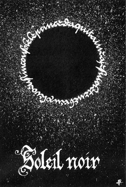 Soleil noir by Holyrose