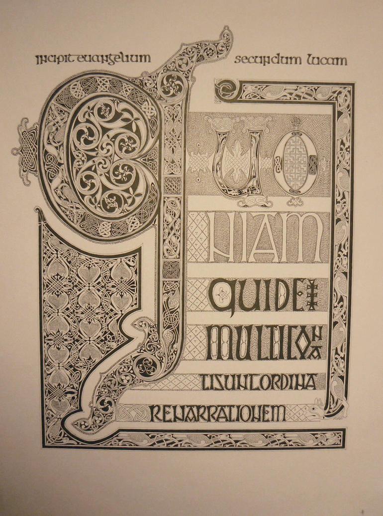 St Luke's page by Holyrose