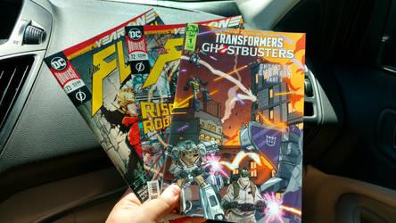 Three New Comic Books by OtakuDude83