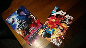 Flash And Ultraman Comics 2