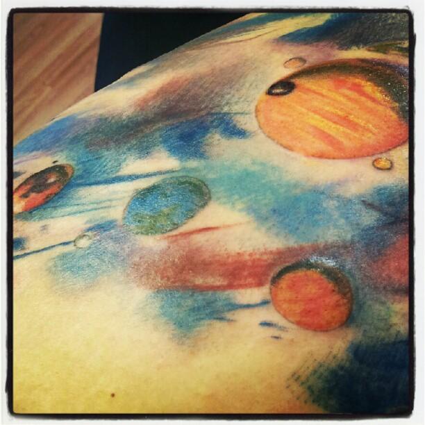 planets deviantart tattoo - photo #46