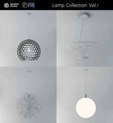 Ceiling Lamp Collection Vol.1
